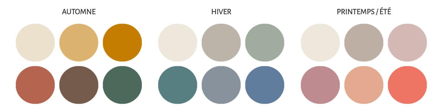 palette couleurs pastel